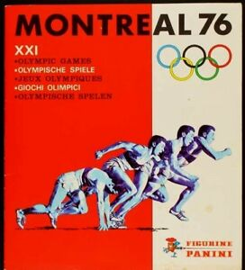 PANINI MONTREAL 1976 OLYMPICS ALBUM COMPLETE WITH ALL STICKERS RARE CASSIUS CLAY