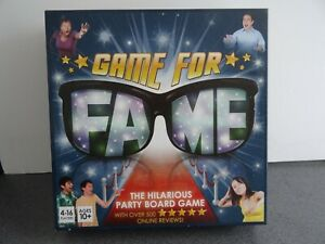 Fame The Hilarious Party Giggles Board Game