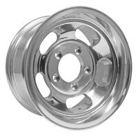 15x10 US Mag U101 Indy 5x139.7 ET-50 Polished Rims (Set of 4)