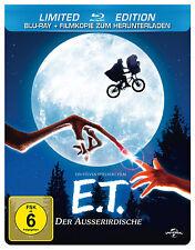 E.T Der Ausserirdische-2 Disc Blueray Limited Ed+inkl. Kopie Neu+Folie+Steelbook