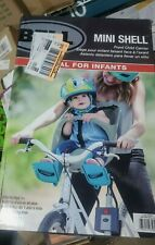 NEW Egg Shell Front Child Bike Carrier - Bicycle Baby Safety Seat - Gray