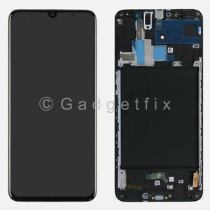 OLED For Samsung Galaxy A70 2019 A705F LCD Display Touch Screen Digitizer Frame