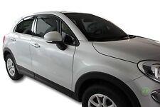 DFI15174  FIAT 500 X 500X 5 DOOR 2015-up   WIND DEFLECTORS 4pc HEKO TINTED
