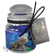 Spell Candle - Luck - Sandalwood - Moon Gazing Hare Design ~ Lisa Parker~Nemesis