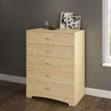 Wooden Dresser 5 Drawer Chest Storage Cabinet Organizer Closet Bedroom Furniture