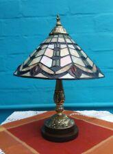 Tiffany  Vintage Antique Unique Nouveau Deco Stained Glass Period Lamp Light