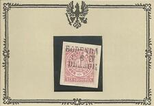 PR BP/suolo Bach/19.6.iv/Dresda chiari l3 su gabinetto-lettera pezzo di M. ndp16