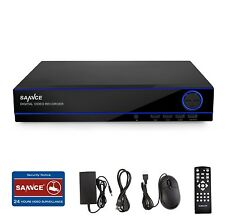 SANNCE 16-Channels 1080N DVR Recorder Home Security System HDMI Video Remote APP