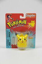Pokémon Vintage Pikachu Stapler Toy Island 1999 Nintendo NEW nos Sealed