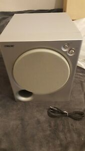 New Silver Sony SA-WMSP75 75w Powered Active Subwoofer