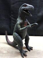 """1987 U.K.R.D. T-Rex Dinosaur / Godzilla / Monster 7""""  DM - Dor Mei"""