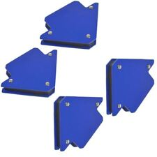 4pk 25lb 75mm Welding Magnet Arrows Welder Holder Support 45 90 135 Angles