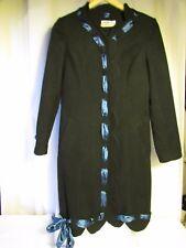 abrigo MOSCHINO vaqueros MUJER lana negro 36