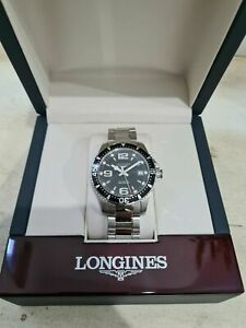 Longines HydroConquest 39mm black Watch For Men