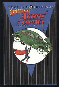 Superman Archives The Action Comics Vol. 1 by DC Comics Staff GRAPHIC NOVEL BOOK