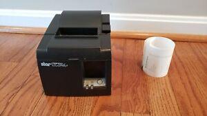 Star Micronics TSP100 Thermal Receipt Printer USB W/Power Cord - FAST SHIPPING