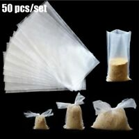 50X Bait Bag PVA Lure Mesh Water Soluble Sack Carp Coarses FishingTackle Durable