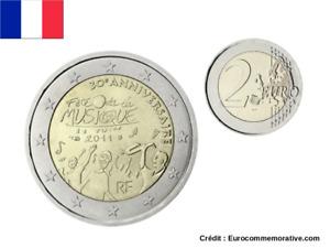 2 Euros Commémorative France 2011 Fête de la Musique - UNC