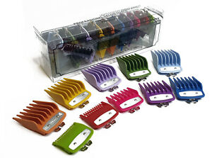 Attachment Comb Set Metal Fitting All Sizes 0.5 - 8 Fit - Wahl Standard Clippers