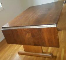 Fabulous Vintage Solid Wood Dining Room Table - Seats 6 to 8 People VGC - SOLID