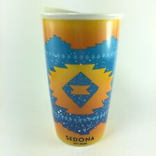 Starbucks Sedona Arizona Double Wall Traveler Ceramic Travel Tumbler Cup 12 oz