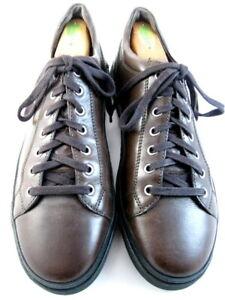 """Allen Edmonds """"PORTER DERBY"""" Men's Leather Sneakers 9.5 D Brown (604)"""