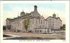 KINGSTON, Ontario  Canada   HOTEL DIEU   Main Entrance   Postcard