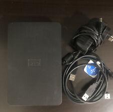 Western Digital 2TB Portable HD Hard Drive