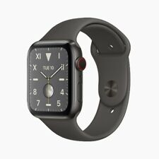 Apple Watch Series 5 Edition 44mm Black Titanium Case w/ Black SportBand