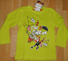 super Langarm-Shirt Gr 104   +ansehen Disney Phineas and Ferb
