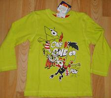 super Langarm-Shirt Gr 104   +ansehen Disney Phineas and Ferb