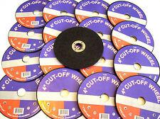 "20 4"" ANGLE GRINDER CUT-OFF WHEELS 5/8 ARBOR CHEAP ABRASIVE DISCS"