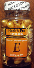 Nu-Health Royal Jelly Vitamin E Skin Oil Moisture Complex - 90 Capsule