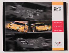 Corvette C-5R 2004 Cadillac CTS-V Sports Car Racing Pratt & Miller yearbook