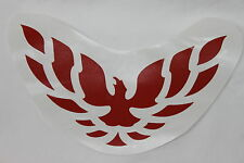 98-02 Firebird/Trans Am Front Bumper Filler Panel Decal Red
