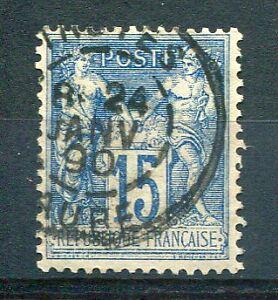 FRANCE - TIMBRE CLASSIQUE 90, type SAGE, oblitéré CACHET ROND, LOT 030