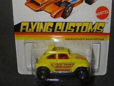 2012 HOT WHEELS FLYING CUSTOMS VW VOLKSWAGEN BAJA BEETLE HOTWHEELS HW YLLW VHTF