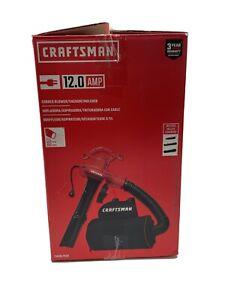 Craftsman Corded Leaf Blower Vacuum Mulcher 12-Amp CMEBL7000 backpack 260 mph