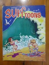 SURFTOONS PETERSON'S JULY 1968 SURFING SURF MAGAZINE