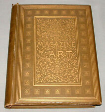 "Original 1878 "" The Magazine of Art Illustrated  "" Reference Hardcover Book"