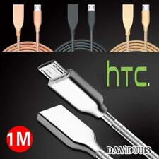 Metal Micro USB Data Sync Charging Charger Cable For HTC Desire Phones