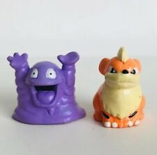 CGTSJ Grimer & Growlithe Original Nintendo Pokemon Mini Figures Toy vtg 2