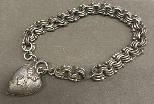 Silber  Armband | Herz Anhänger