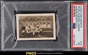 1934 Ilsa Sweets Album Sportovcu Team Austria Vienna #14 PSA 5 EX