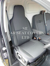 TO FIT A PEUGEOT BOXER VAN 2014, SEAT COVER, ROSSINI EBONY BLACK -DRIVER'S