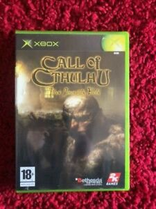 Call of Cthulhu Dark Corners of the Earth Microsoft XBOX PAL France Complet