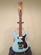Univox Hi Flier Phase 1- Late 60's Sonic Blue Tortoise Shell-Custom Made Guitar