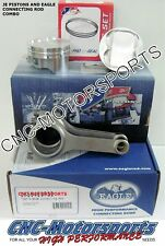 JE Pistons Eagle Rods Combo Toyota 5SFE Block/ 3SGTE Head 87.5mm 9.0:1
