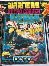 Amstrad Disk Disc Batman Caped Crusader Rare Game W/ Manual Boxed