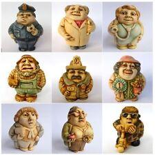 Lot A of 9 x People Oddbods - NIB - Hard Body Figurines - MPS Harmony Kingdom